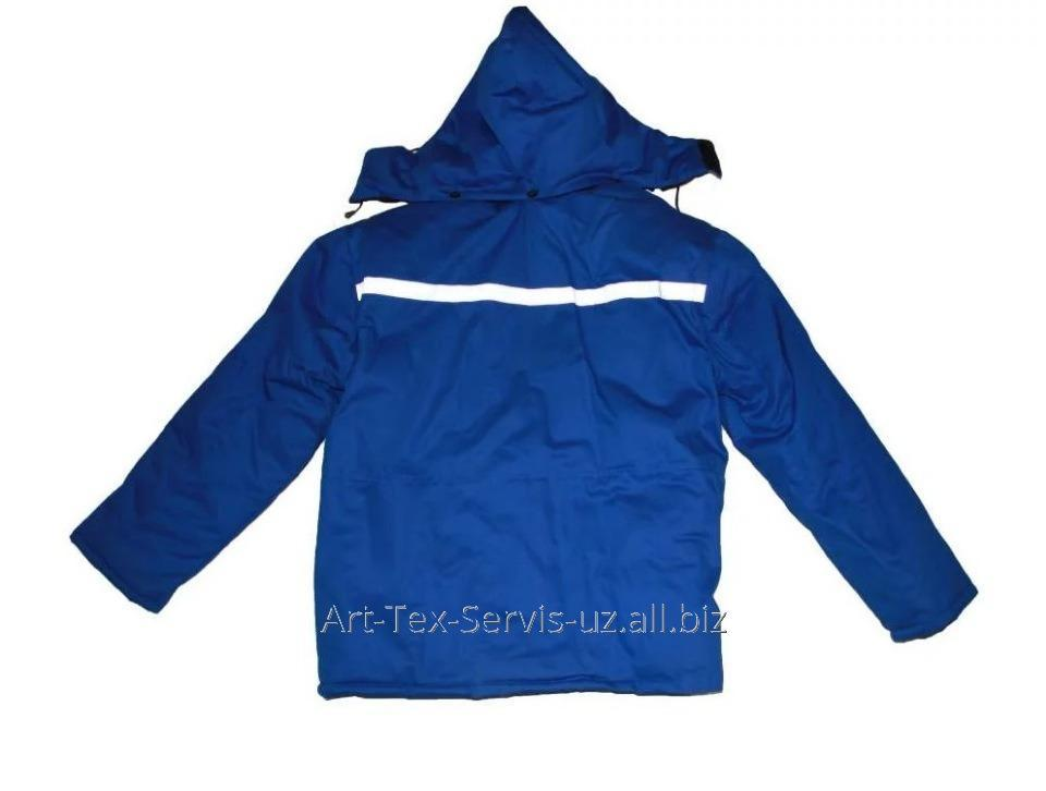 Купить Куртка демисезонная с капюшоном и светоотражающей лентой