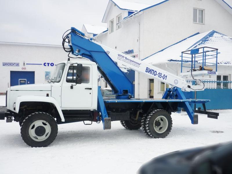 Автогидроподъемник ВИПО-18 ГАЗ 33086