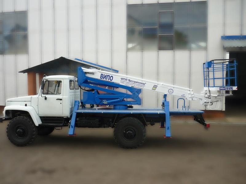 Автогидроподъемник ВИПО-20 ГАЗ 33081