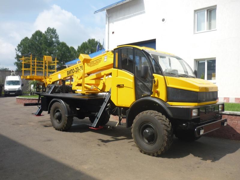 Подъемник автомобильный гидравлический ВИПО-20 МАЗ-4370