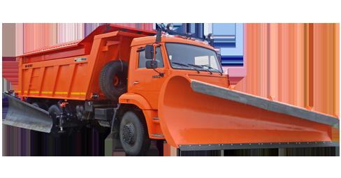 Пескоразбрасывающая и поливомоечная машина МД-651А