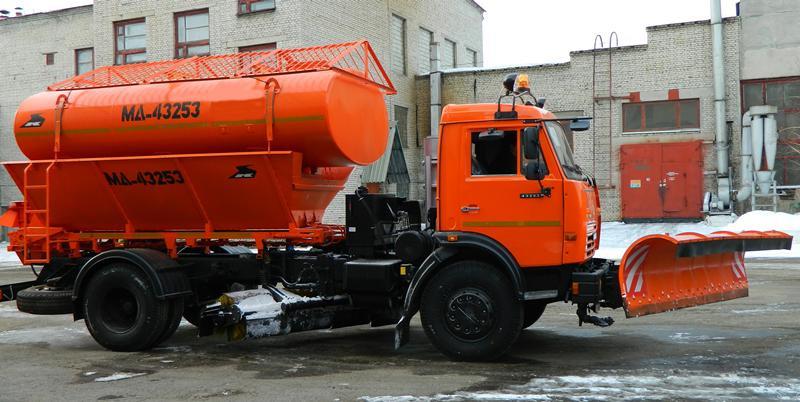 Коммунальная дорожная машина МД-43253