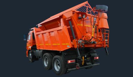 Дорожно-уборочная машина МД-53605