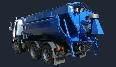 Комбинированная дорожная машина МД-651M1 / M2