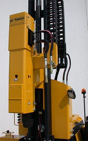 Самоходная сваебойная машина для монтажа ограждений ВТР SMART (сваебойная установка)