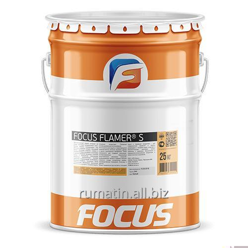 Огнезащитная краска на органической основе FOCUS FLAMER® S