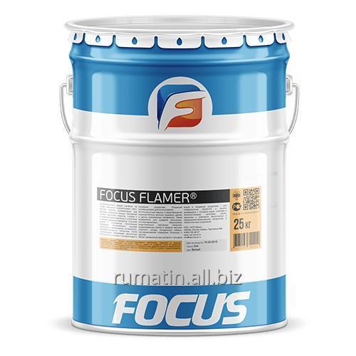 Огнезащитная краска на водной основе FOCUS FLAMER®