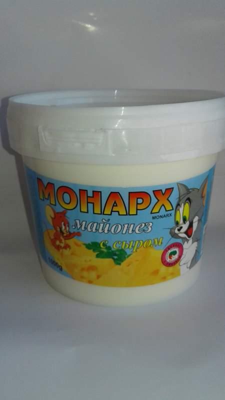 Купить Майонез Монарх с сыром 1 кг