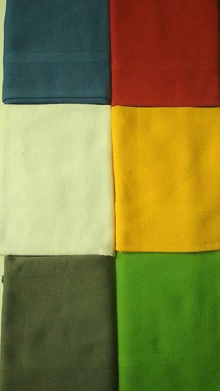 Махровое полотенце для кухни 50/70. TrioLino ( Kract GmbH & Co.KG) Германия. Состав:  100 % хлопок