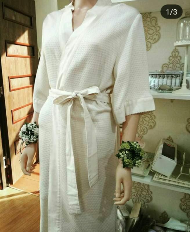 Халат ткани бамбук