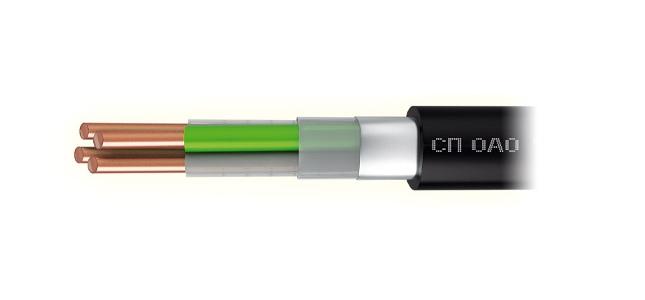 Купить Кабель связи высокочастотный симметричный одночетверочный с полиэтиленовой изоляцией и оболочкой