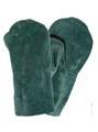 Купить Рукавицы кожаные спилковые