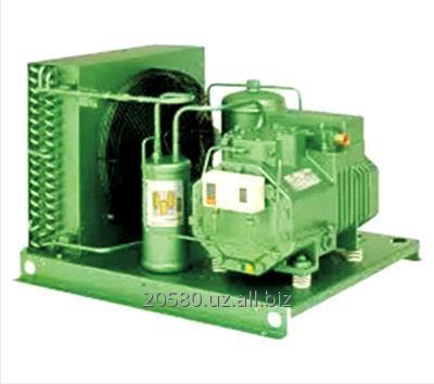 Купить Одноступенчатые агрегаты компрессорно-конденсаторные воздушного охлаждения с полугерметичным поршневым компрессором