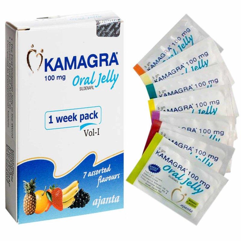 Kamagra Oral Jelly 100 mg (дженерик Виагра гель)