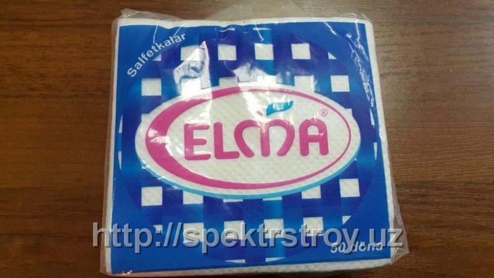Салфетки бумажные Elma