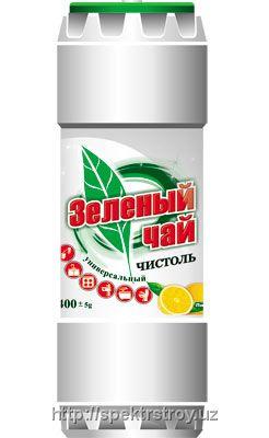 """Чистящее средство для дома - Чистоль """"Зеленый чай"""" с ароматом лимона"""