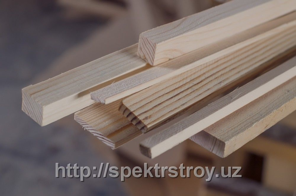 Рейки деревянные брус (Узб-н /Россия)