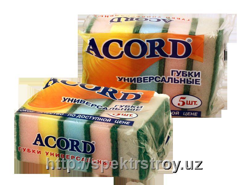Губка ( салфетка ) для мытья посуды и уборки Аккорд