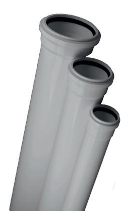 Купить Канализационная труба 1,8мм (Ø100/0,50м)