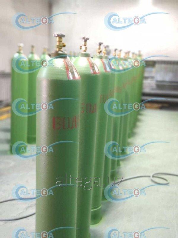 Водород газ особой чистоты марка 5.0 (99,999%)
