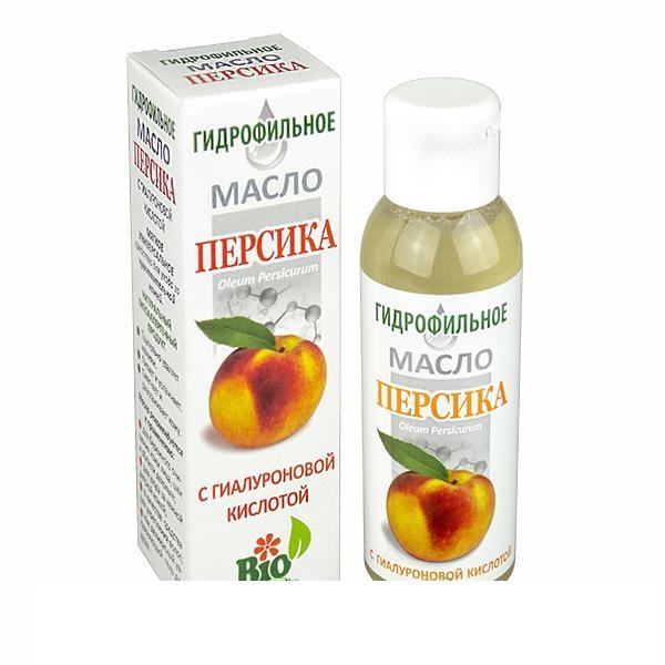Гидрофильное масло Персика с гиалуроновой кислотой флакон 100 мл.