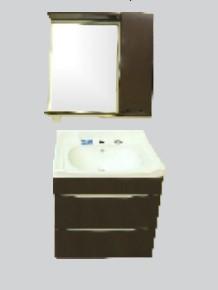 Купить Комплект мебели для ванной комнаты Olivia Brown (Тумба, Зеркало)