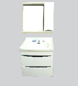 Купить Комплект мебели для ванной комнаты Olivia White (Тумба, Зеркало)