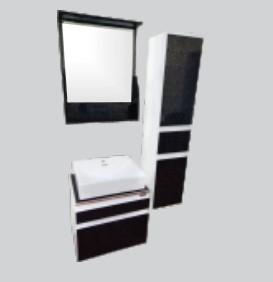 Купить Комплект мебели для ванной комнаты Quadro (Тумба, Зеркало, Пенал)