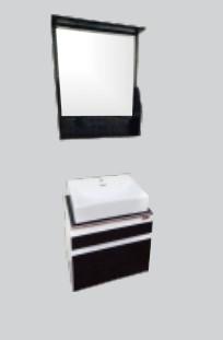 Купить Комплект мебели для ванной комнаты Quadro (Тумба, Зеркало)