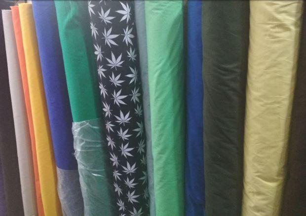 Ткань натуральная для производства одежды
