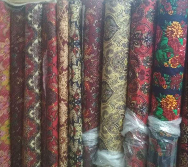 Ткань для производства текстиля с узором