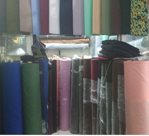 Ткань для производства текстиля с узорами в рулоне