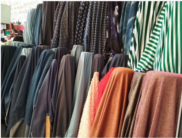 Купить Ткань для текстиля в полосу рулонах