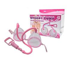 Вакуумная помпа для груди Breast Pump enlarge witch twin cups