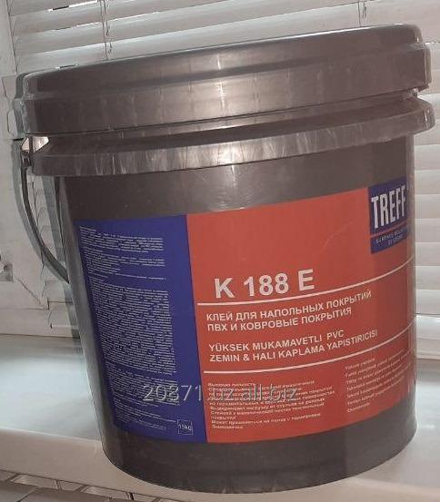 Купить TREFF R188 E Клей для напольных покрытий ПВХ и Ковровые покрытия
