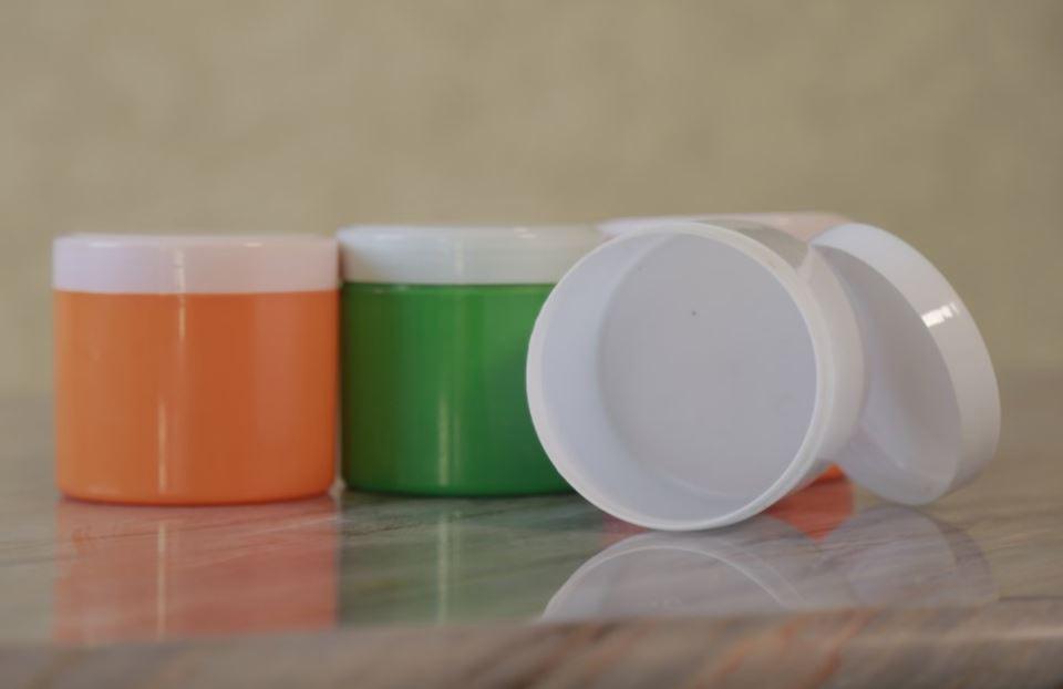Купить Упаковка Toshkent Plast Polimer пластиковая для крема цветная
