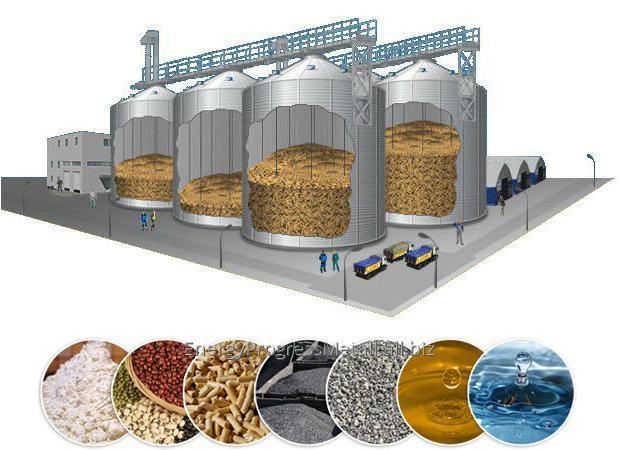 Купить Силосы для хранения зерна. Комплекс зернохранилища.