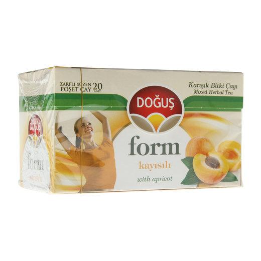 Doğuş Form Tea с абрикосом 20 пакетиков