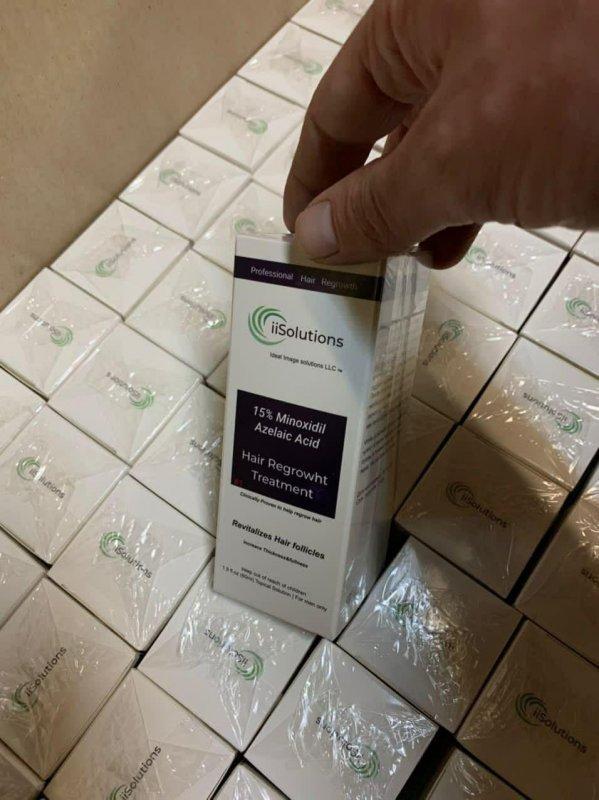 Миноксидил - препарат против выпадения волос