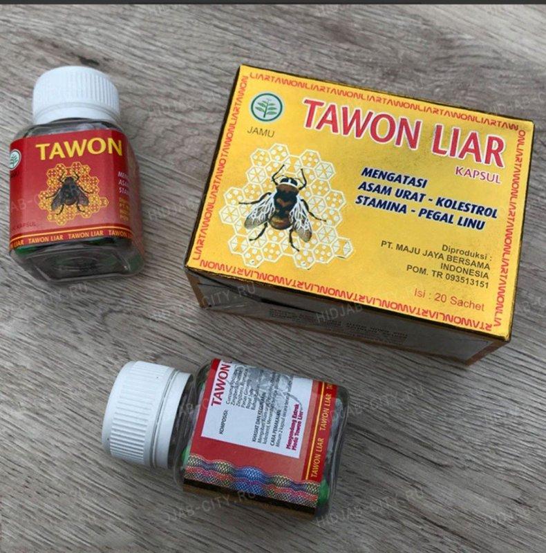 Tawon Liar Gold капсула для суставов