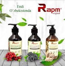 Rapm Шампунь для затемнения корней волос