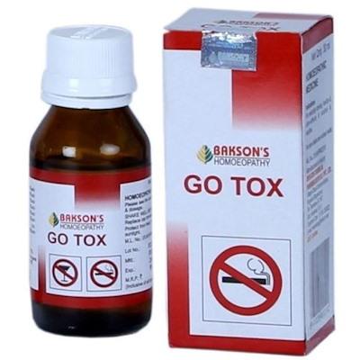 Капли для снятия тяги к табаку и алкоголю GO TOX (Гоу Токс )