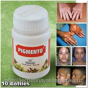 Таблетки от пигментных пятен Пигменто (Pigmento) Charak, 40 таб.