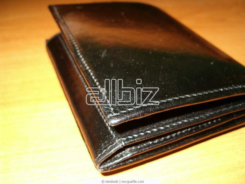 Купить Аксессуары мужские Бумажники кожаные