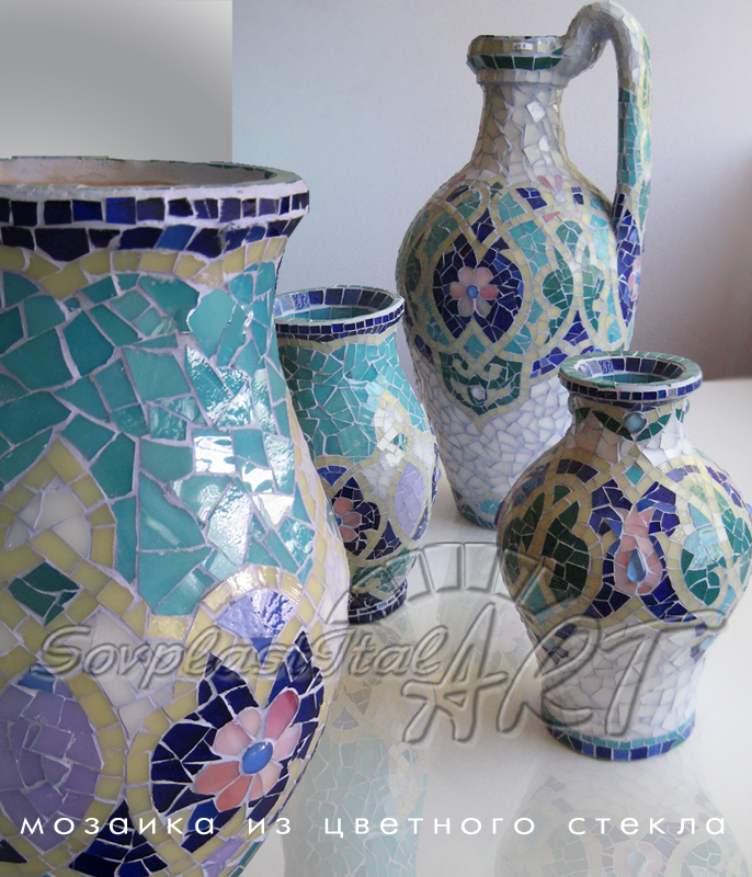 Buy Mosaic from color glass