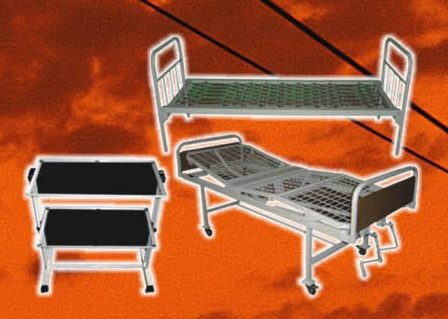 Металлические кровати и медицинская мебель