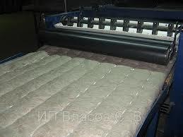 Теплоизоляционный материал рулонный на основе базальтового тонкого и супертонкого волокна, облицованный фольгой