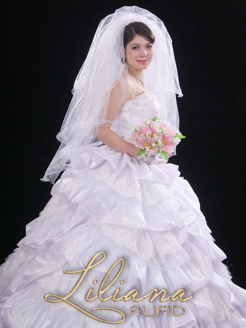 Wedding dress of \