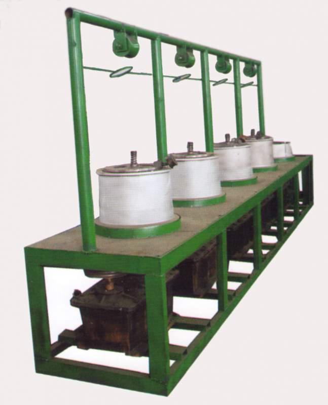 Stroje na tahání drátu souprudné