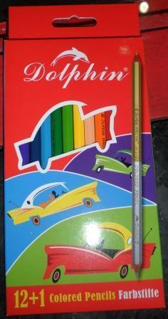 """Купить Набор цветных карандашей """"Dolphin"""""""